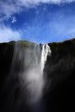 冰岛瀑布 库存照片