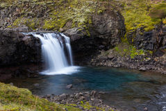 冰岛瀑布 免版税库存图片