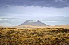 冰岛火山 免版税库存照片