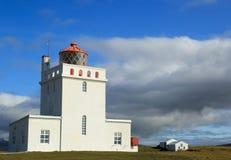 冰岛灯塔 图库摄影