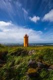 冰岛灯塔 库存照片