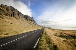 冰岛环行路 免版税图库摄影