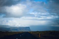 冰岛环行路 免版税库存图片