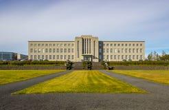 冰岛的大学 免版税库存图片