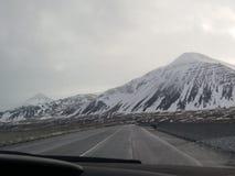 冰岛的美好的风景 库存图片