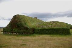 从冰岛的草皮房子 库存图片