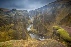 冰岛的贫瘠秀丽 免版税库存照片