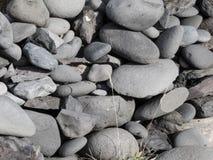 冰岛石头 库存照片