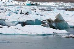 冰岛语的冰山 免版税图库摄影