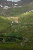 冰岛路 免版税库存照片