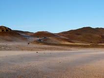 冰岛路 库存图片