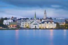 冰岛雷克雅未克 免版税库存图片