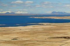 冰岛风景风景 免版税库存照片