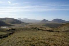 冰岛风景 免版税图库摄影