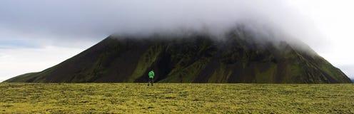 冰岛高地 图库摄影