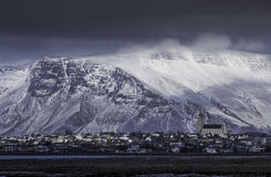 冰岛,雷克雅未克 库存图片