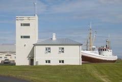 冰岛, Gardskagi 免版税库存照片
