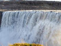 冰岛-壮观的Detifoss瀑布 图库摄影