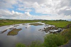 冰岛 库存照片