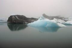 冰岛jokulsarlon 免版税库存照片