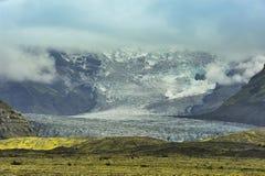 冰岛lanscape np南vatnajokull 库存照片