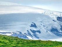 冰岛Skaftafell国家公园山2017年 免版税库存图片