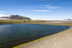冰岛Skaftafell国家公园 免版税库存照片