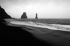 冰岛vik 库存图片