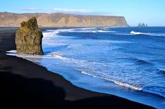 冰岛vik 免版税库存照片