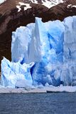 冰川峭壁 免版税库存图片