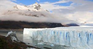 冰川佩里托莫雷诺国家公园在秋天 阿根廷,巴塔哥尼亚 影视素材