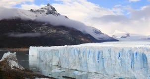 冰川佩里托莫雷诺国家公园在秋天 阿根廷,巴塔哥尼亚 股票录像