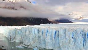 冰川佩里托莫雷诺国家公园在秋天 阿根廷,巴塔哥尼亚 股票视频