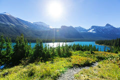 冰川公园 免版税库存照片