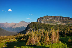 冰川公园 免版税库存图片