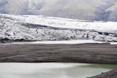 冰川冰岛融解 免版税库存图片