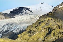 冰川冰岛 免版税图库摄影