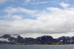 冰川和冰冠 库存图片