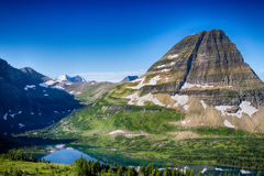 冰川国家公园 免版税图库摄影