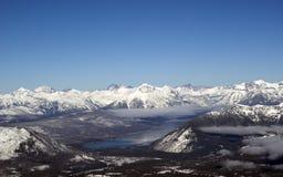 冰川国家公园 免版税库存照片