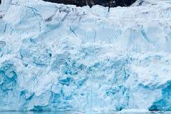 冰川在斯瓦尔巴特群岛 图库摄影