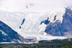 冰川塞罗Torre, El Chalten,阿根廷 库存照片