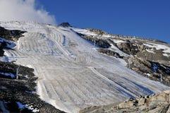 冰川夏天 库存图片