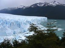冰川巴塔哥尼亚的,阿根廷的sur佩里托莫尔诺 图库摄影