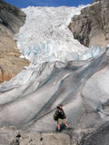 冰川挪威 免版税库存照片