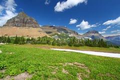 冰川摇石国家公园通过 图库摄影