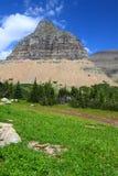 冰川摇石国家公园通过 免版税库存图片