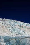 冰川新的美妙的西兰 图库摄影