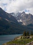 冰川湖玛丽国家公园圣徒 库存照片