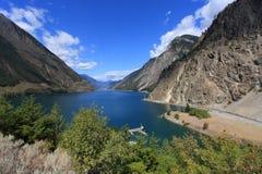 冰川湖 库存图片